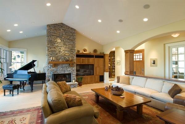 Дизайн гостиной фото 2017 современные идеи с камином