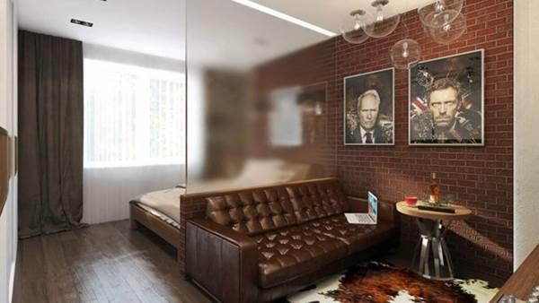 Дизайн гостиной спальни фото 2017 современные идеи