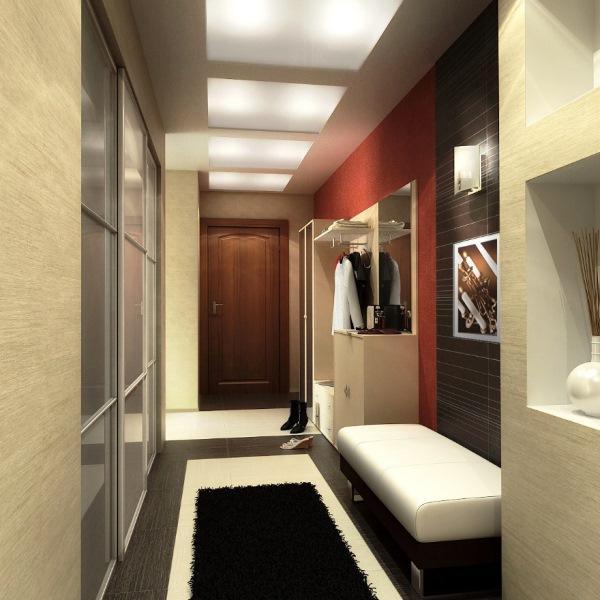 дизайн коридора фото 2015 современные идеи