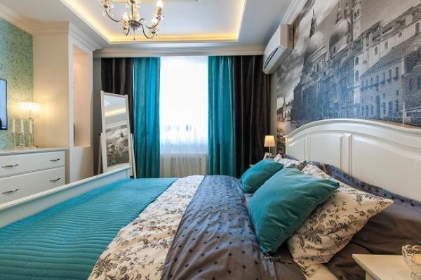 Дизайн штор спальни фото 2016 современные идеи