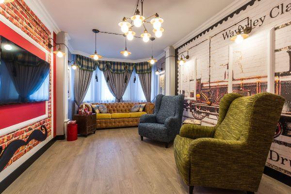 Современный интерьер гостиной: фото 2017
