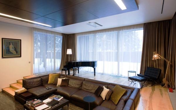 Современный дизайн гостиной фото 2017 современные идеи