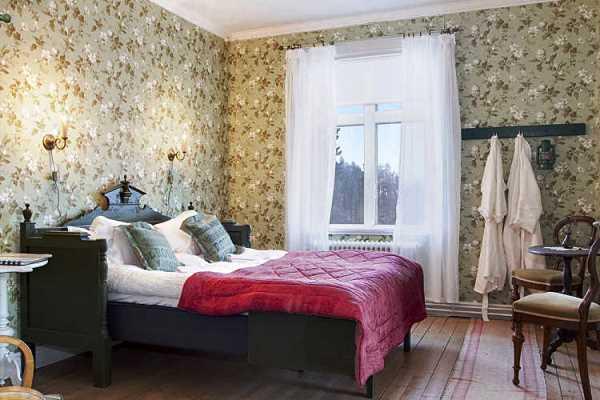 обои в маленькой спальне фото 3
