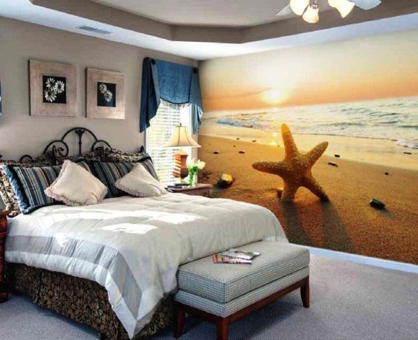 обои в маленькой спальне фото 6