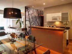 Простые решения для зонирования пространства: перегородки в комнате, как главный интерьерный акцент