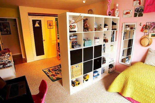 перегородки для зонирования пространства в комнате фото 9