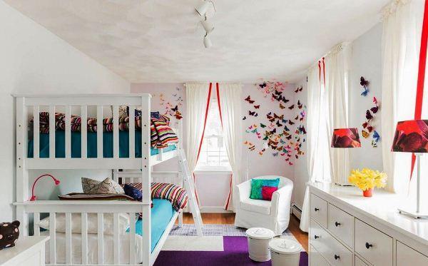 декор бабочки на стене фото 4