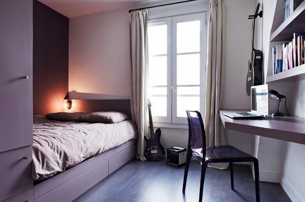 Дизайн маленькой спальни фото 2017