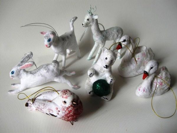 Елочные игрушки ручной работы фото 2