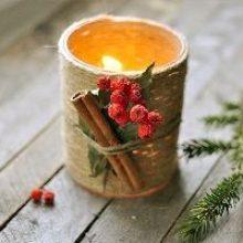 Маленькие детали большого праздника: несколько советов о том, как сделать новогодние свечи своими руками