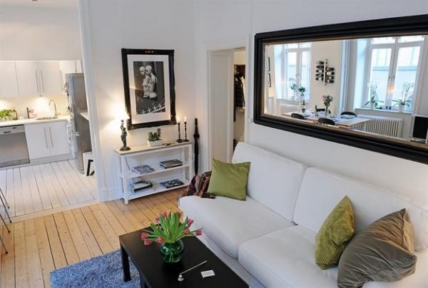 скандинавский стиль в малогабаритных квартирах фото 10