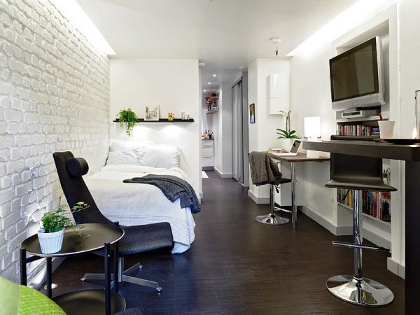 скандинавский стиль в малогабаритных квартирах фото 4
