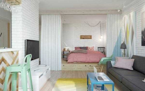 скандинавский стиль в малогабаритных квартирах фото 7
