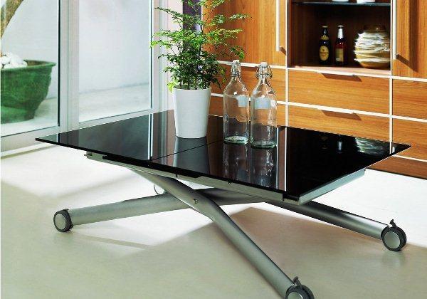 стол трансформер журнальный обеденный фото 10