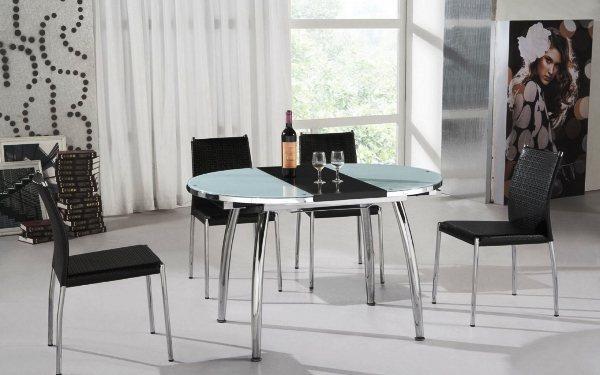 стол трансформер журнальный обеденный фото 7