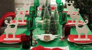 украшение и сервировка новогоднего стола