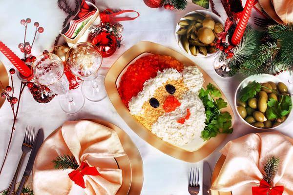 украшение новогоднего стола фото 4