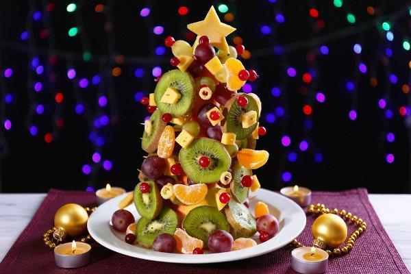 украшение новогоднего стола фото 7