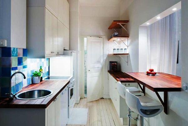 дизайн маленькой кухни фото 2017 современные идеи фото 7
