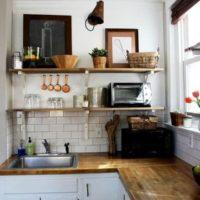 маленькая кухня 2017 идеи фото 19