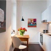 маленькая кухня 2017 идеи фото