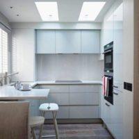 маленькая кухня 2017 идеи фото 23