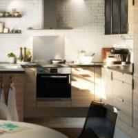 маленькая кухня 2017 идеи фото 28
