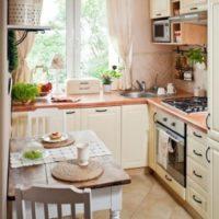 маленькая кухня 2017 идеи фото 30