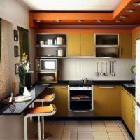 маленькая кухня 2017 идеи фото 35