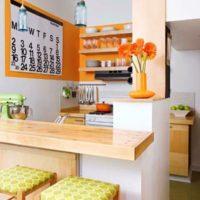 маленькая кухня 2017 идеи фото 36