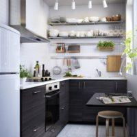 маленькая кухня 2017 идеи фото 43