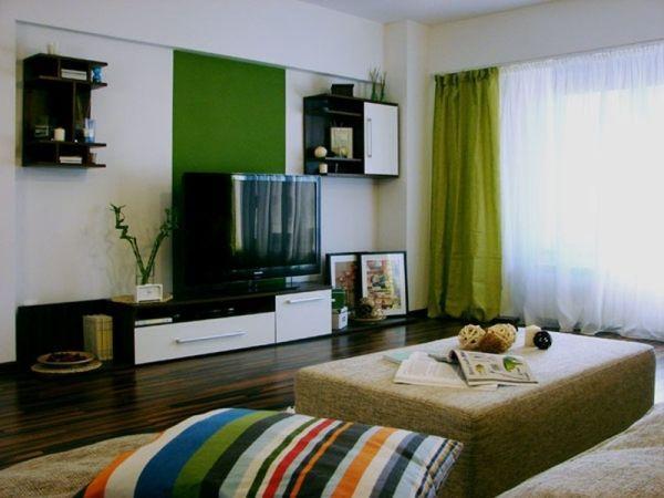 дизайн однокомнатной квартиры 40 кв.м фото разделить на две зоны фото 4