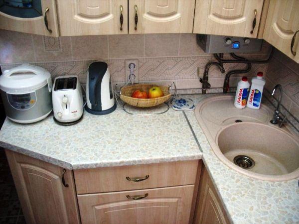 Дизайн маленькой кухни 6 кв. м фото