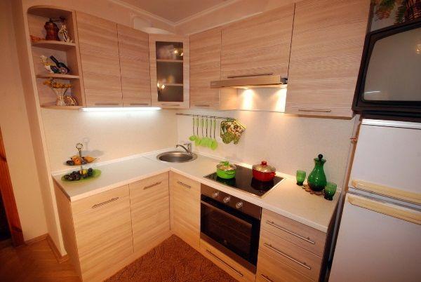 Дизайн кухни 6 кв. фото