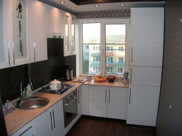 Кухня 6 кв. метров дизайн фото