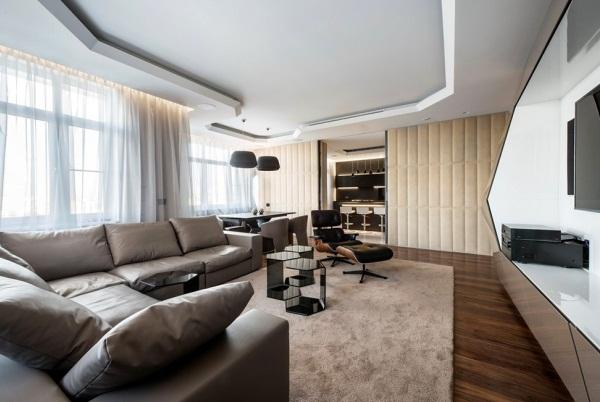 Современный дизайн квартиры фото