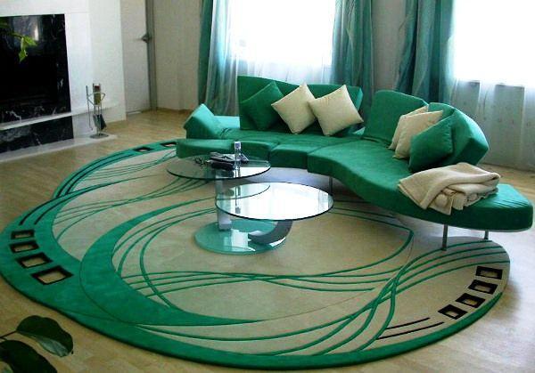 ковры в интерьере гостиной фото 10