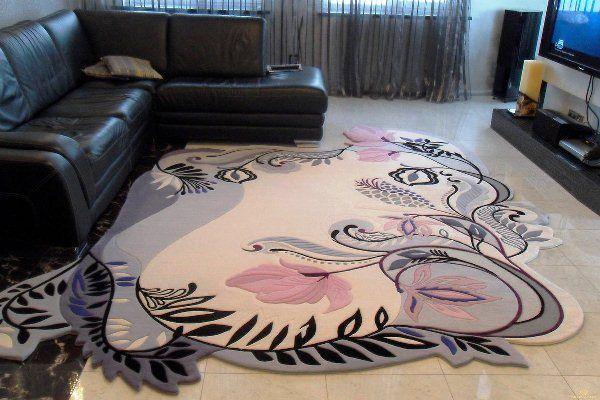 ковры в интерьере гостиной фото 12