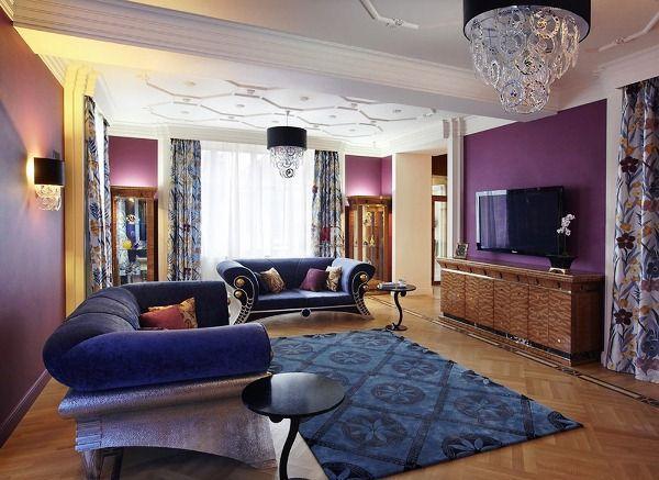 ковры в интерьере гостиной фото 15