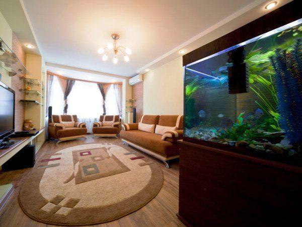 ковры в интерьере гостиной фото 6