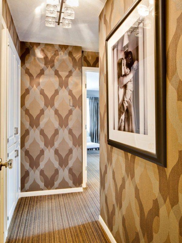 обои для маленькой прихожей и коридора фото 7