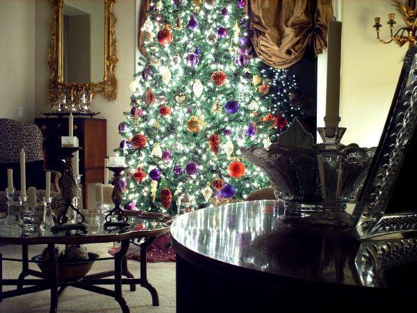 гирлянды на новогоднюю елку