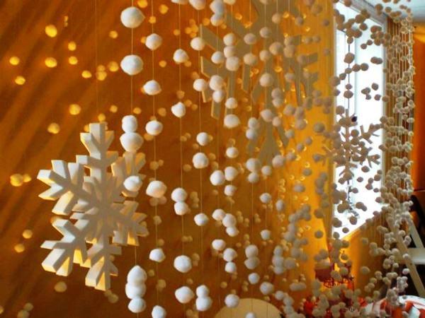 новогодние гирлянды своими руками фото 12
