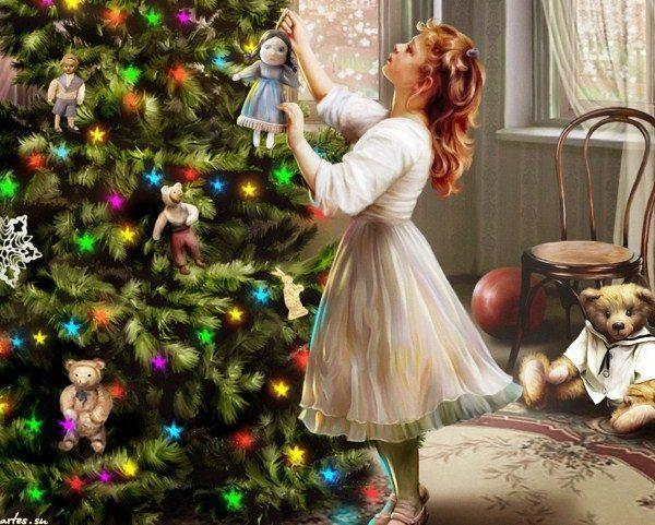 традиция наряжать елку