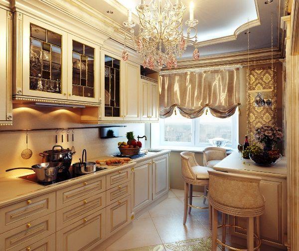Дизайн окна на кухне фото