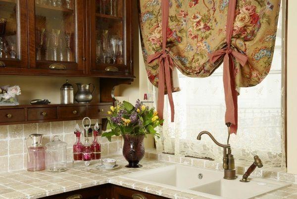 Кухонные занавески фото