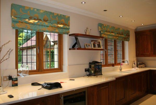 шторы на кухне в интерьере фото 2