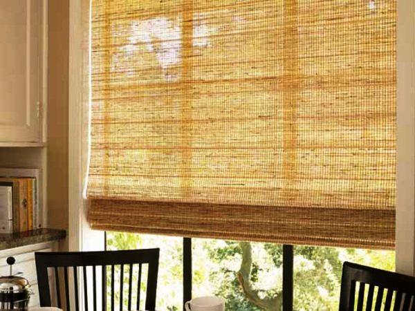 шторы на кухне в интерьере фото 8